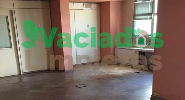 limpieza de zonas comunes y de paso de oficinas