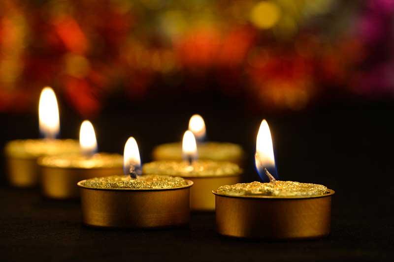 Limpiar la cera de las velas