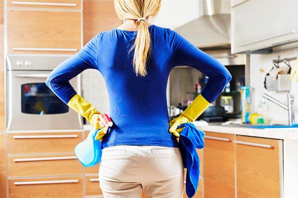 regularidad de la limpieza verde