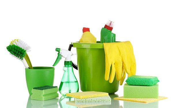 productos de limpieza verde