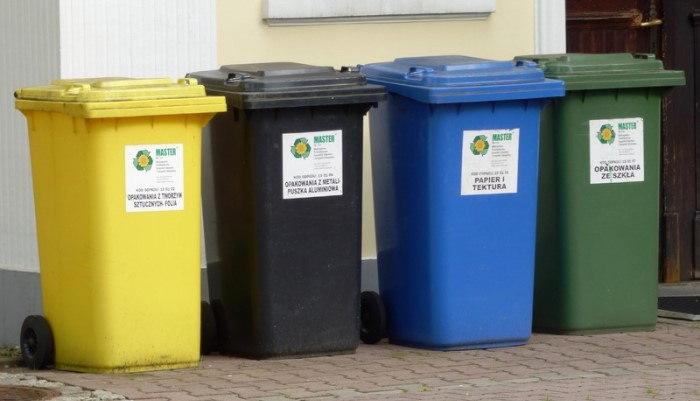 Tipos de contenedores para el reciclaje