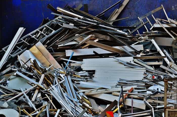 Reciclar residuos de aluminio