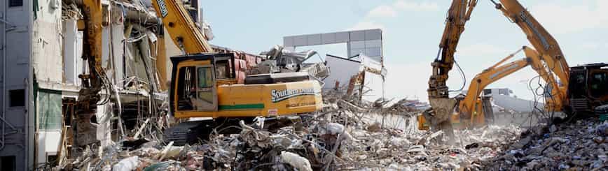 Qué Se Debe Hacer Con Los Residuos De Una Demolición