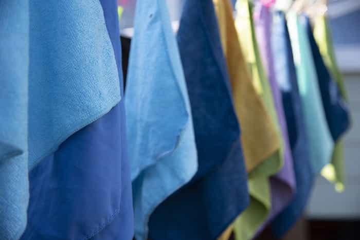 Códigos de colores más usados para la limpieza profesional