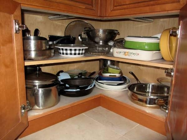 Armario de cocina libre de humedad