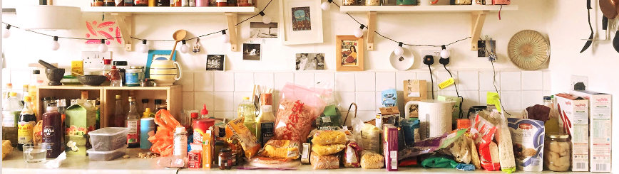 Cosas Acumuladas Cocina