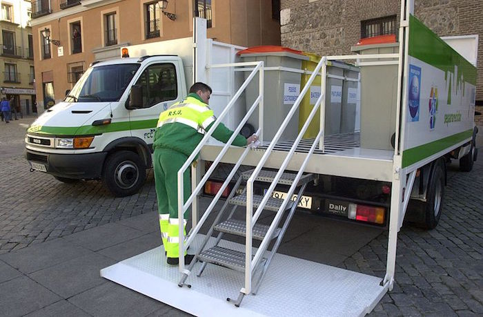 Punto limpio móvil en Madrid