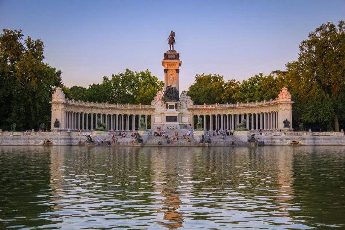 Parque del Buen Retiro de Madrid