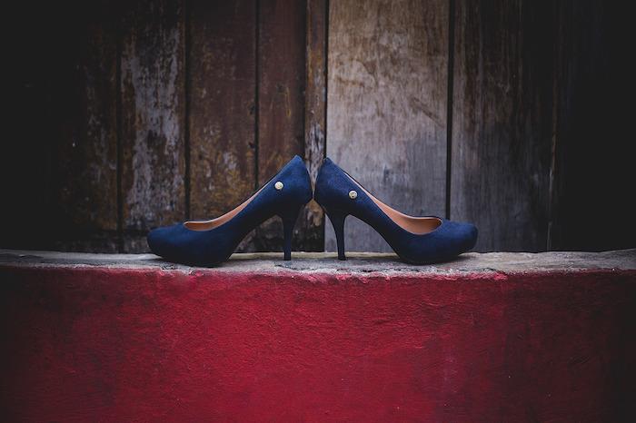 Zapatos usados que ya no necesita