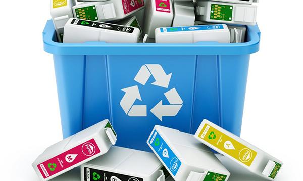 Reciclar los cartuchos de la impresora