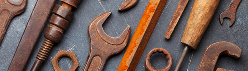 Cómo Limpiar Tus Herramientas Oxidadas