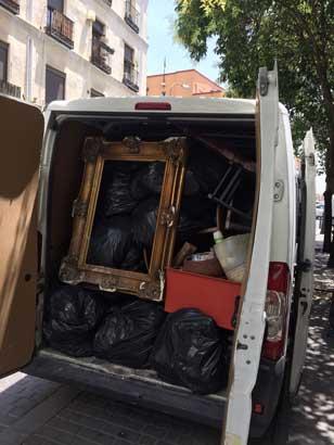 empresas de vaciado de casas en Pinto