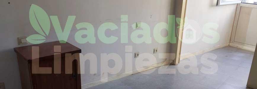 vaciado de pisos en Getafe