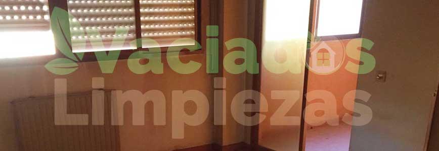 vaciado de pisos en Aranjuez