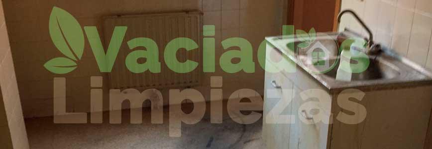 vaciado de pisos en Escorial, El