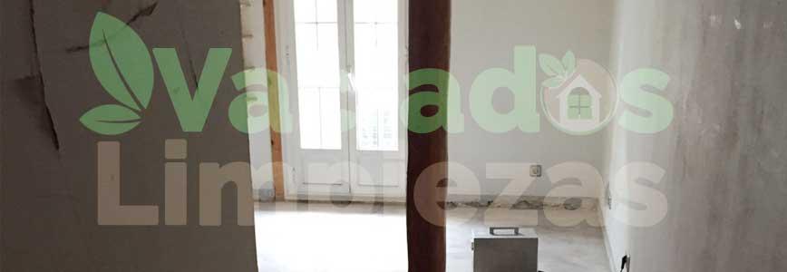 vaciado de pisos en Alcorcón