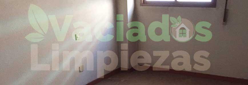 vaciado de pisos en San Sebastián de los Reyes