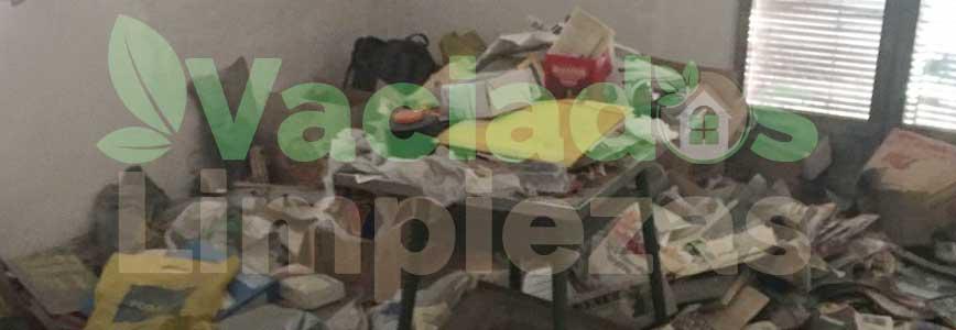 vaciado de pisos en Galapagar