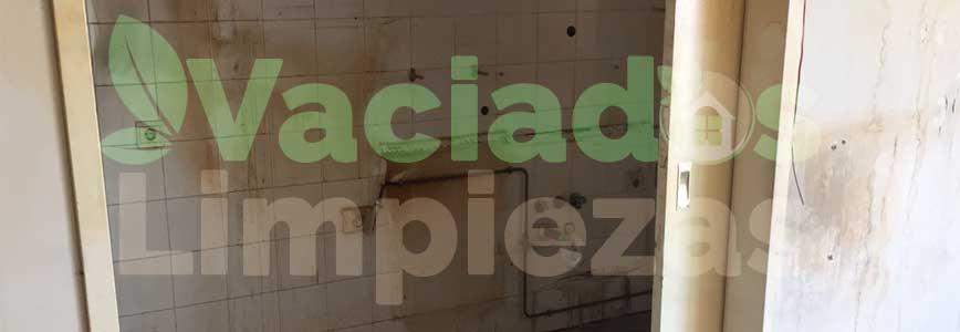 vaciado de pisos en Villa del Prado