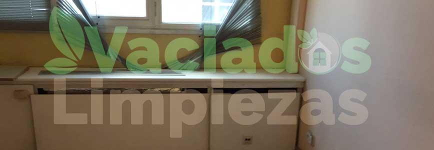 vaciado de pisos en Alpedrete