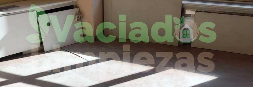 vaciado de pisos en Torrejón de Velasco