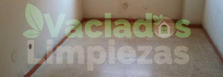 vaciado de pisos en Velilla de San Antonio