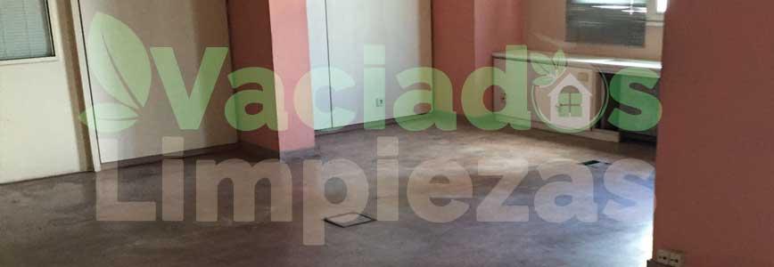 vaciado de pisos en Molar, El