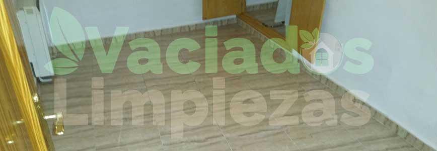vaciado de pisos en Alcalá de Henares