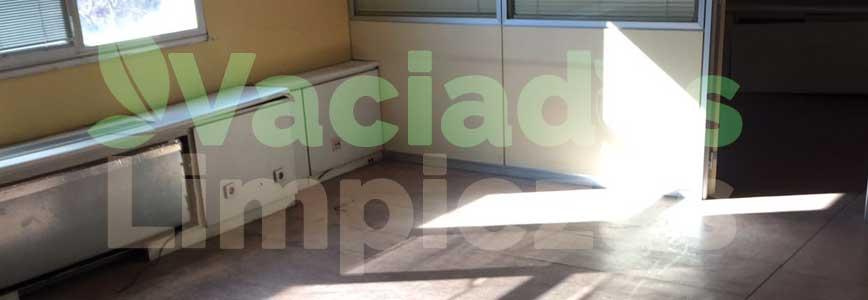 vaciado de pisos en Colmenarejo